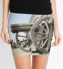 Francoist artillery positions, Madrid, 1936.  Mini Skirt