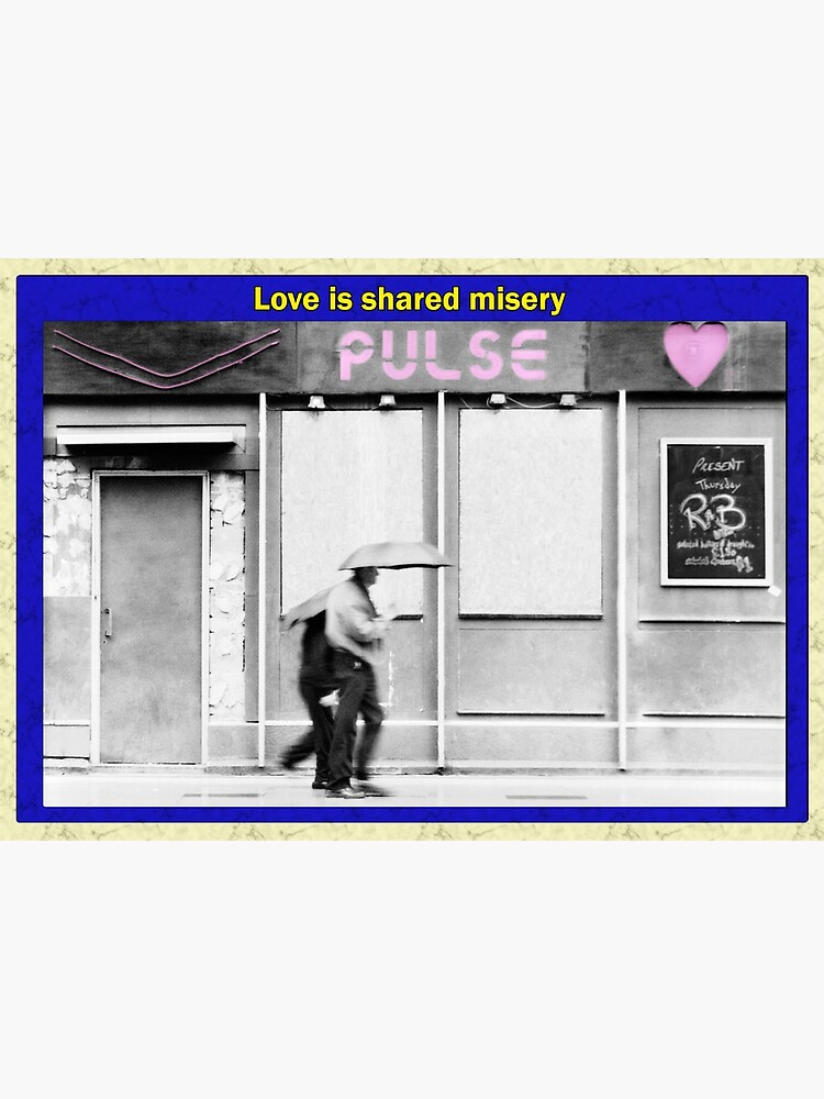 Love is shared misery by AntSmith