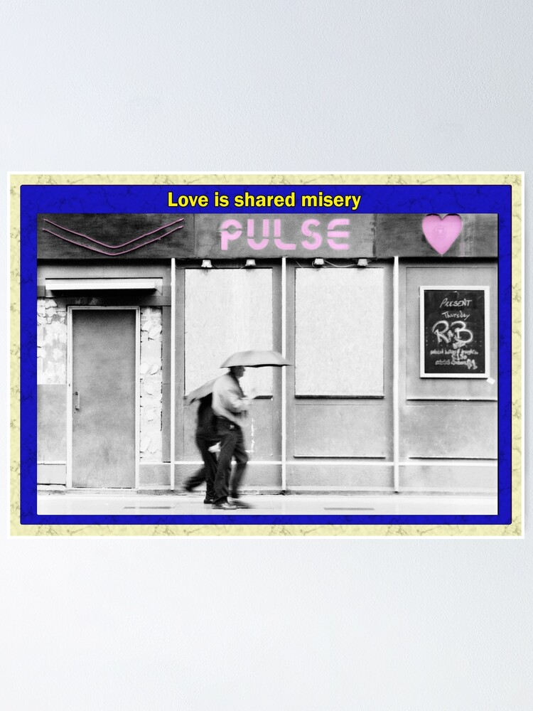 Alternate view of Love is shared misery Poster