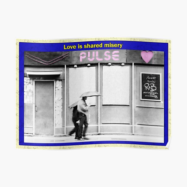 Love is shared misery Poster