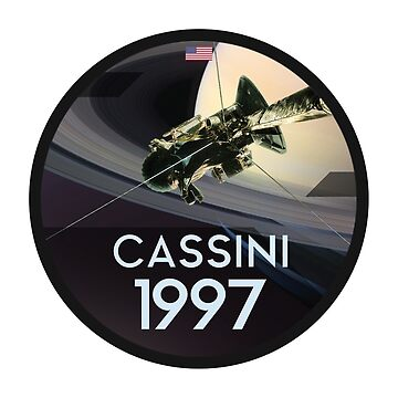 Cassini Satelite by WanderingFox