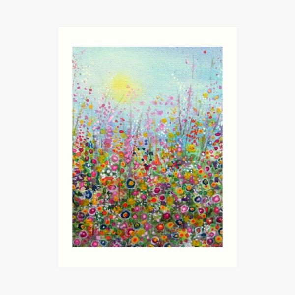 Flower Meadow Art Print