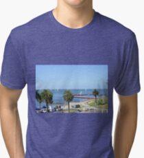 Eastern Beach Geelong Australia. Tri-blend T-Shirt