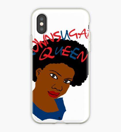 BrownSugar Königin-natürliches Haar AfroTshirt iPhone-Hülle & Cover