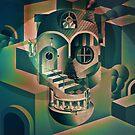 Utopia Skull by Ali Gulec