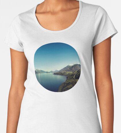 Auf dem Weg nach Glenorchy (Dinge sind mir passiert) Frauen Premium T-Shirts