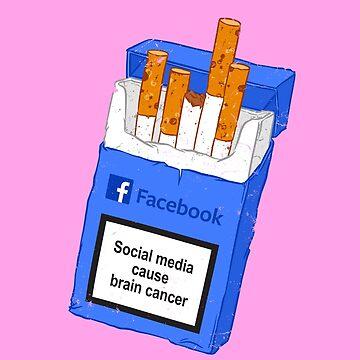 Social media cause brain cancer by Chuvardina