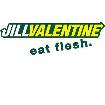 Jill Sandwich - Eat Flesh! by KendosGraphics