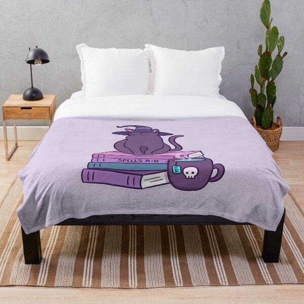 Feline Familiar Throw Blanket