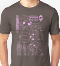 Tachikoma blueprint Unisex T-Shirt