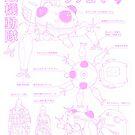 Tachikoma blueprint by Korey