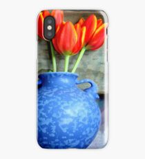 Elephantine Tulips iPhone Case