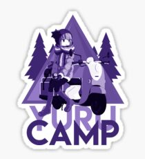 Yurucamp Sticker