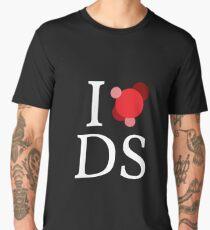 I love data science - contrast Men's Premium T-Shirt