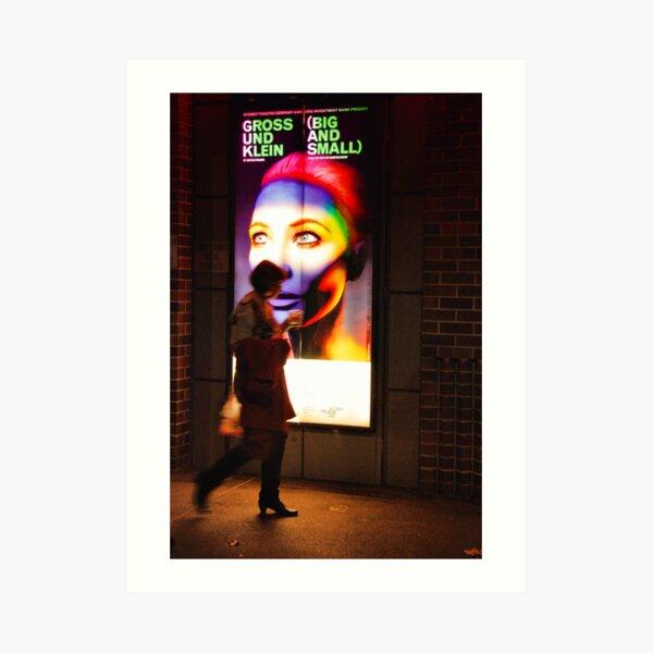 Gross und Klein with Cate Blanchett Art Print