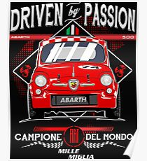 ITALIA RACING CAR RETRO Poster