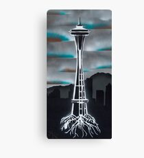 Rooted in Seattle Canvas Print