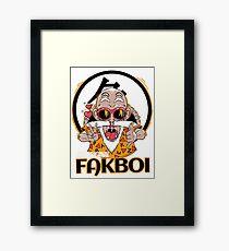 The Original Fakboi Framed Print