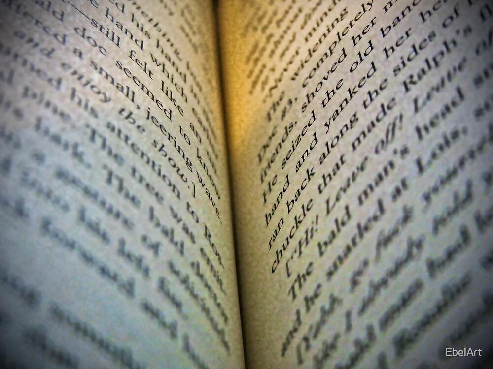 Lost In Words by EbelArt