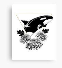 Orca der Weisheit Leinwanddruck