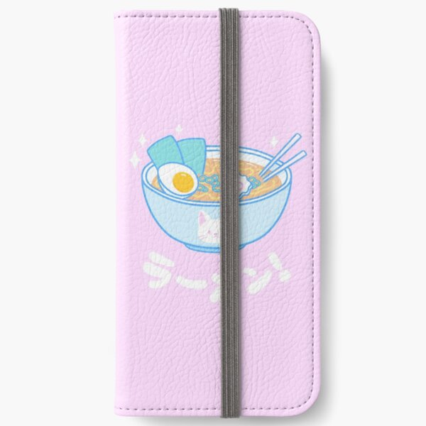 Cute Ramen iPhone Wallet