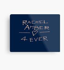 Life is Strange - Rachel Amber 4 Ever Metal Print
