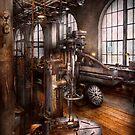 Machinist - Industrial Drill Press  by Michael Savad