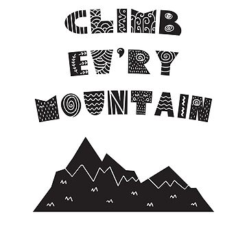 Climb Every Mountain - Sound of Music Scandinavian by progprints