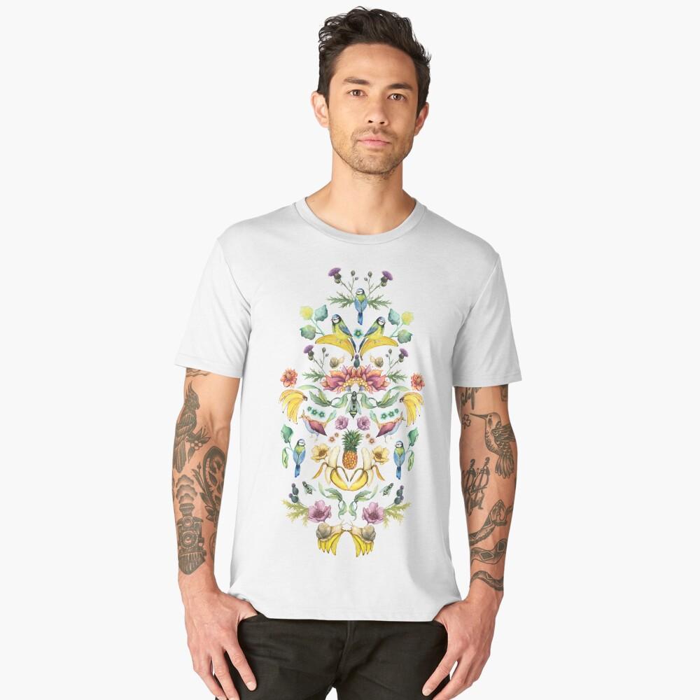Jugend Goes Bananas! Men's Premium T-Shirt Front
