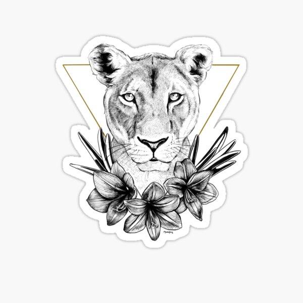 Lioness of Pride Sticker
