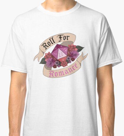 Roll For Romance - Lesbian Pride Classic T-Shirt