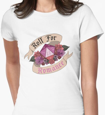 Roll For Romance - Lesbian Pride T-Shirt