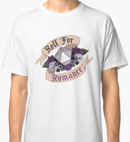 Roll For Romance - Ace Pride Classic T-Shirt