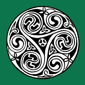 Celtic Art - Triskele by madra