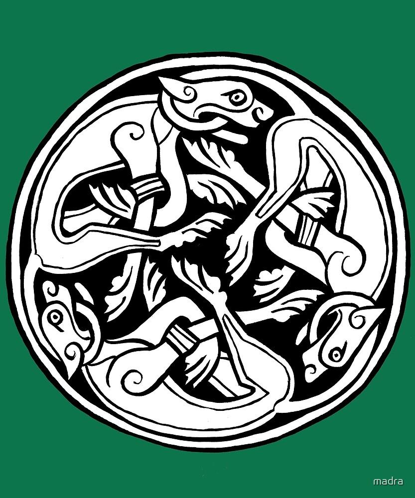 Celtic Art Dog Triskele By Stobhart Matulevicz Redbubble