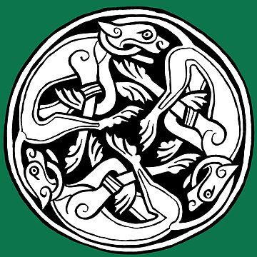 Celtic Art - Dog Triskele by madra