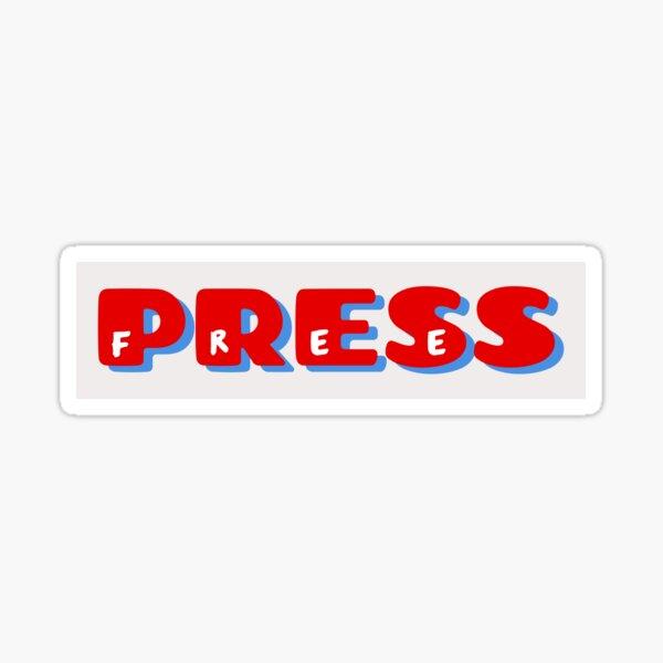 Free Press Sticker