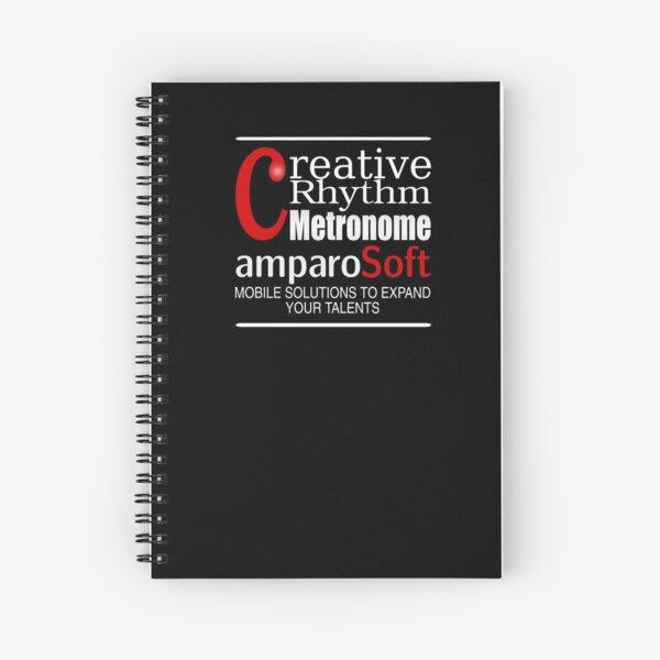 Creative Rhythm Metronome App from amparoSoft Spiral Notebook