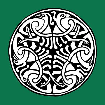 Celtic Art - Interlaced Birds by madra