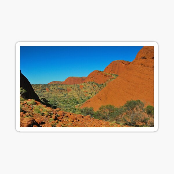 The Valley of the Olgas Sticker