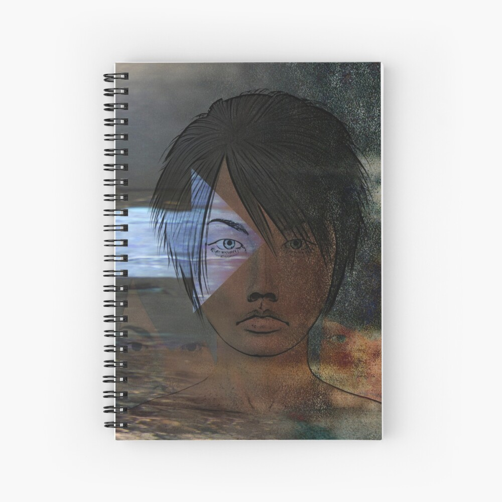 Reflecting Tangencies Spiral Notebook