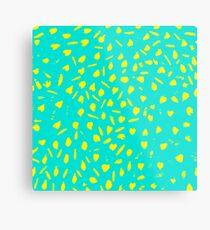 leopard background pattern Metal Print