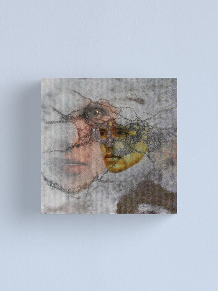 Alternate view of Memories of What Was Canvas Print