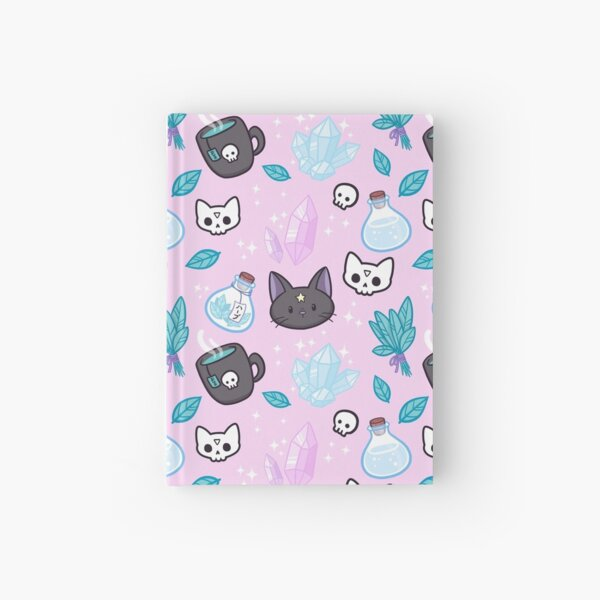 Herb Witch // Pink Hardcover Journal