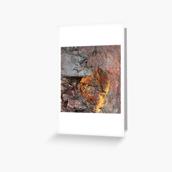 Oneiric Intruder Greeting Card