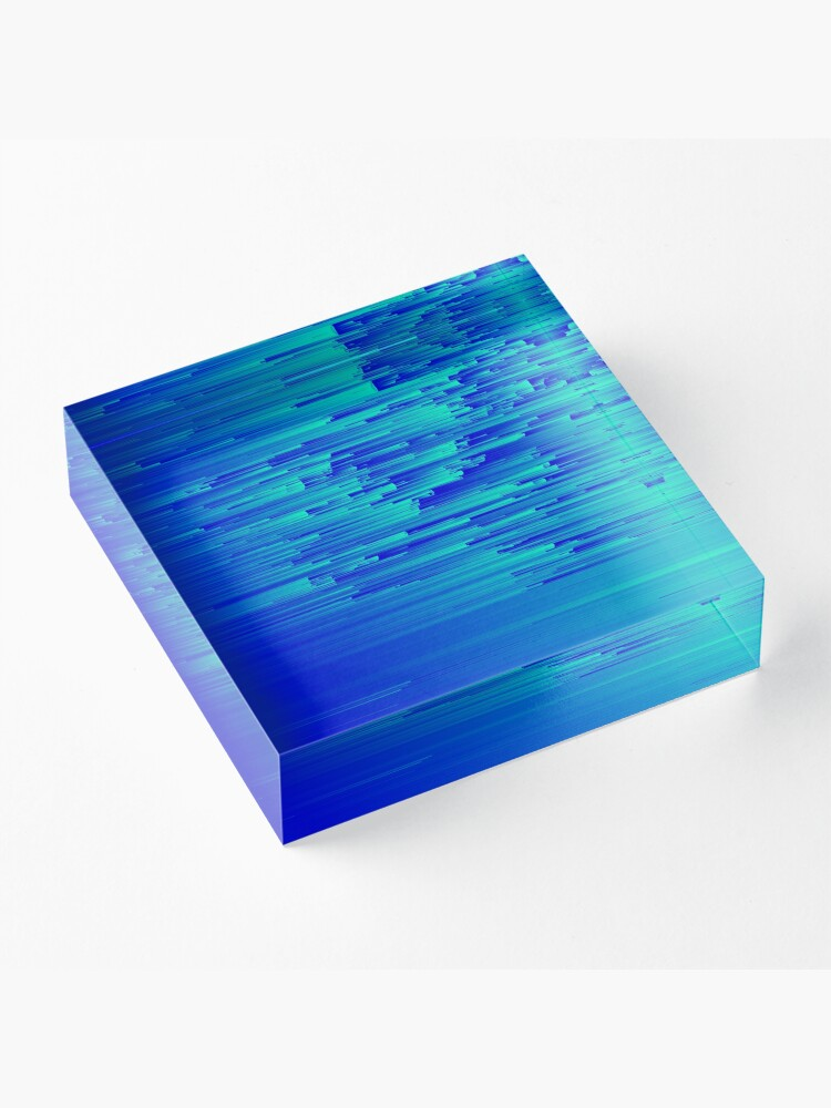 Alternate view of Speed Trap - Pixel Art Acrylic Block