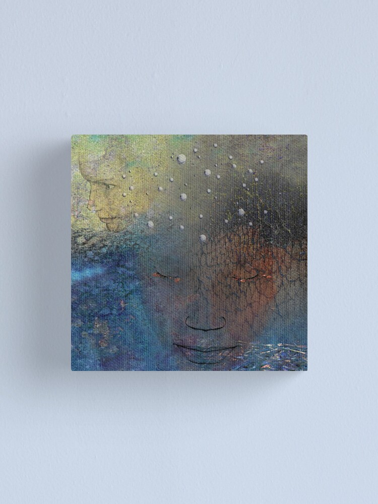 Alternate view of Mask of Memories Canvas Print