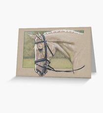 Dressage Horse Greeting Card