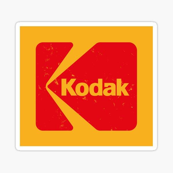 Classic Kodak Logo - 1971 Sticker