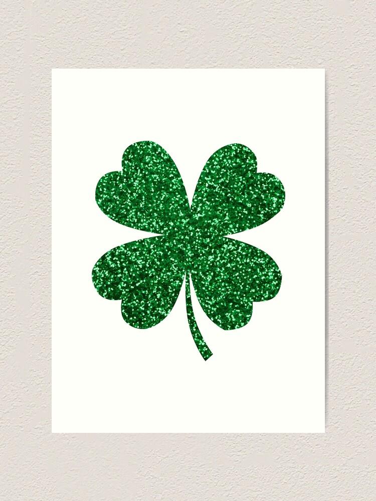 Shamrock Green Irish St Patricks Shamrock Art Print By Pascally Redbubble
